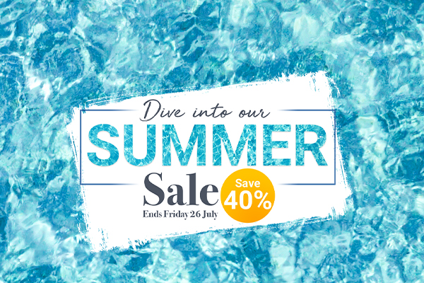 Summer Sale: 40% off