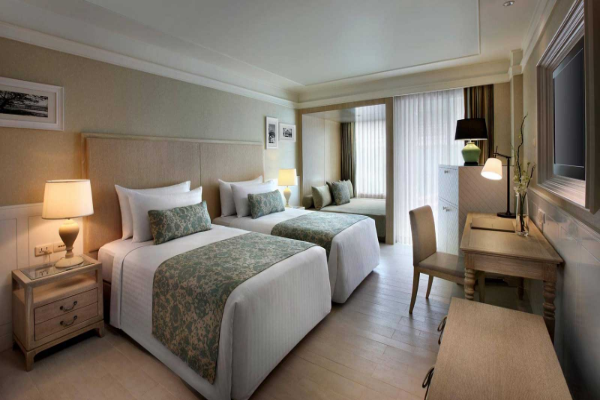 Only here: Complimentary room upgrade